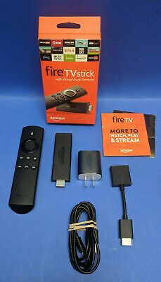 Amazon Fire TV stick 2nd Generation with  Alexa Voice Remote