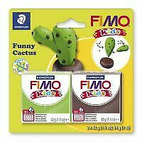 Kids Clay model set by FIMO cactus
