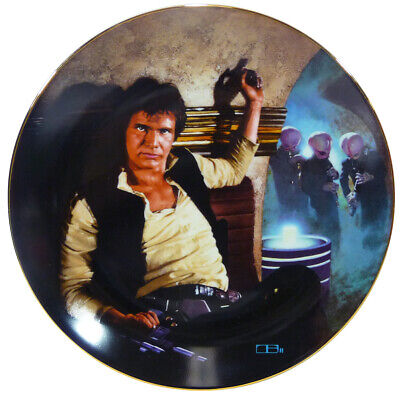 Vintage HAN SOLO Star Wars PLATE (1986) 1st Issue PLATE COLLECTION Excellent!!!