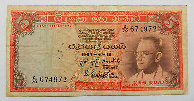 Vintage Bank Note...5 Rupees