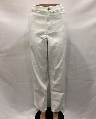 "Denim & Co. ""How Slimming"" Regular Colored Denim Straight Leg Jeans Size 18W QVC"