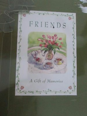 Friends Notebook Journal Diary Friendship A Gift Of Memories Book never used
