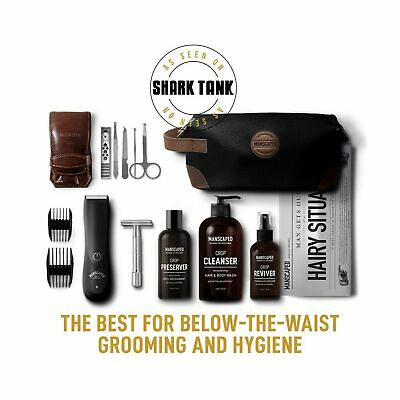 Manscaped Perfect Package 2.0 Kit Contains: Electric Trimmer, Ball Deodorant,...