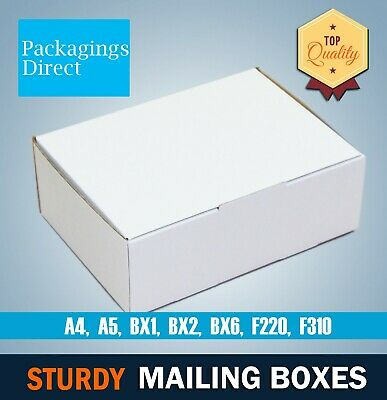 Mailing Box Shipping Mailer High Quality Cardboard Boxes A4 A5 BX1 BX2 BX6