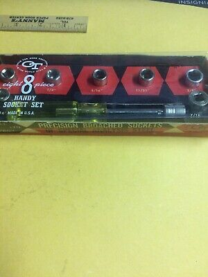 Vintage Oxwall Socket Set...No. 3939