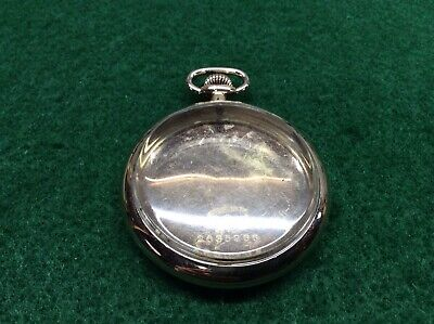 Beautiful 12s Wadsworth Gold Filled Pocket Watch Case