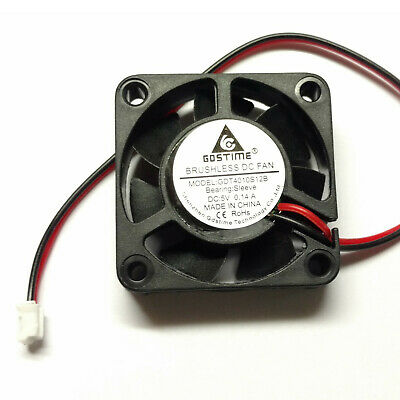 5V 40mm x10mm Cooling Fan 2 pin 4010S 0.14A GDT - Aussie Seller