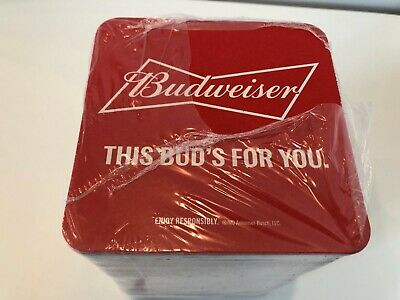 100 Vintage STROH/'S BEER Cardboard BAR COASTERS 2-Sided Unused and Sealed NOS