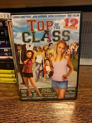 Top of the Class: 12 Film Pack (DVD, 2013, 3-Disc Set) USED