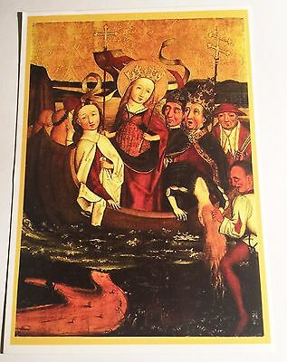 Saint Ursula, Post Card. 15 cm x 10.5 cm Religion, Christian Saint, 11 K Virgins