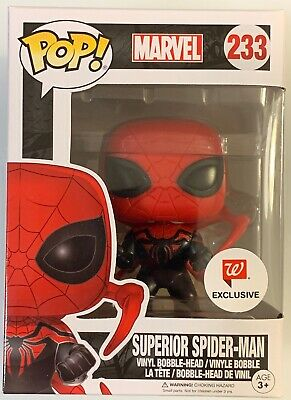 Sold Out Funko Pop Superior Spiderman Marvel Comics Walgreens Exclusive Stan Lee