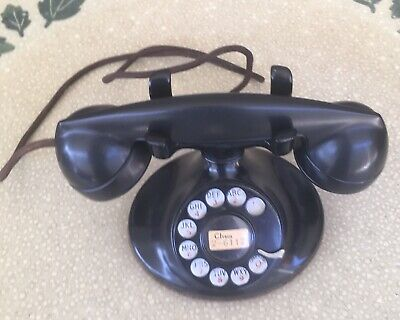 Western Electric Model  D1 Cradle Telephone With F1 handle