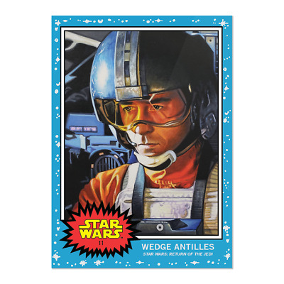 2019 Topps Living Set Star Wars Card #11 Wedge Antilles Sold Out Pr 1662