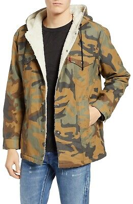 Levi's x Fresh Leaves Justin Timberlake Sherpa Camo Jacket - Men's XL - New +Tag