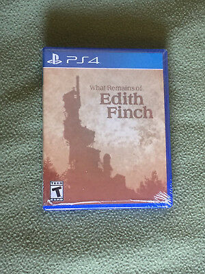 Free*Postage New What Remains Of Edith Finch PS4 Video Game Physical Copy