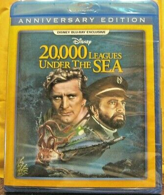 20,000 Leagues Under the Sea - Blu-Ray - Disney Movie Club Exclusive - NEW
