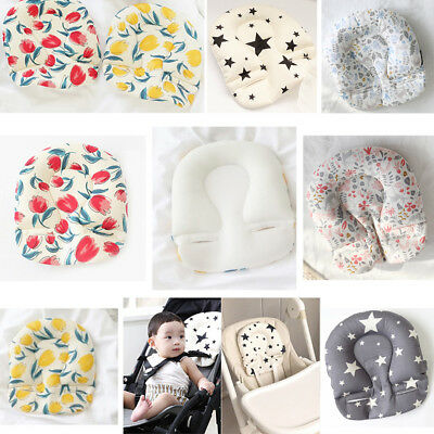 UK Newborn Baby Headrest Car Seat Pillow Support Stroller Liner Mat Cushion Pad