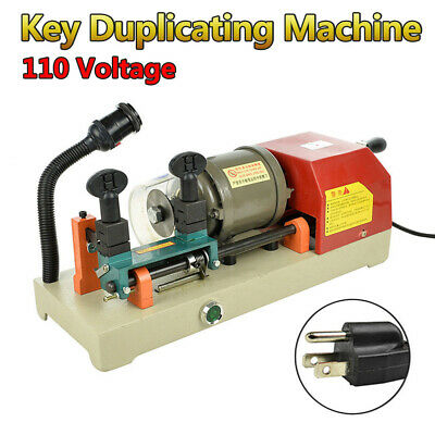 110V Key Duplicating Machine Key Copy Guide Key Reproducer Reproducing Cutter