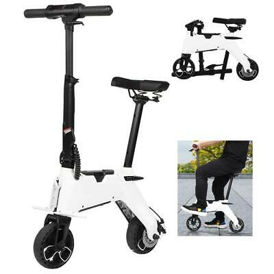 Aluminium Alloy Folding Electric Bike Portable Top Speed 20km/h Electric Bicycle