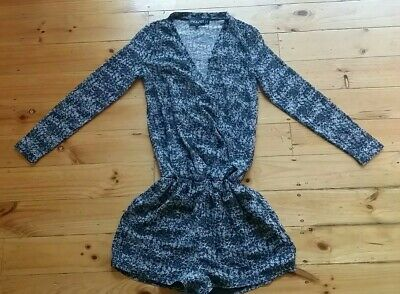 JAGGAR PLAYSUIT long sleeve  Women sz Small - VGC