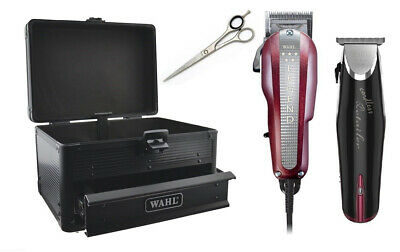 Wahl Professional Legend Hair Clipper & Cordless Detailers Barber's Combo Pack -