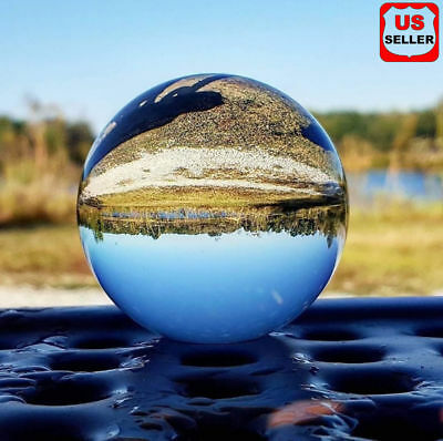 100MM Photography Crystal Ball Sphere Decoration Lens Photo Prop Lensball Clear