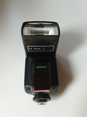 Neewer TT560 Flash Speedlite for Canon Nikon Panasonic Olympus DSLR Camera
