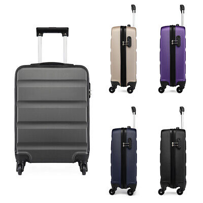 4 Wheels Cabin Luggage Travel Suitcase Lightweight Hand Luggage Bag Hard Shell