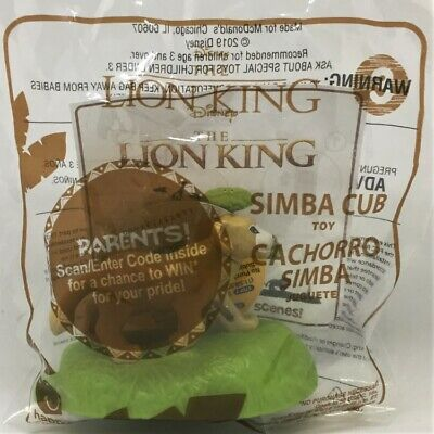 ☆ Disney The Lion King Simba Cub Toy  ☆ New 2019 McDonald's Happy Meal Toy #3