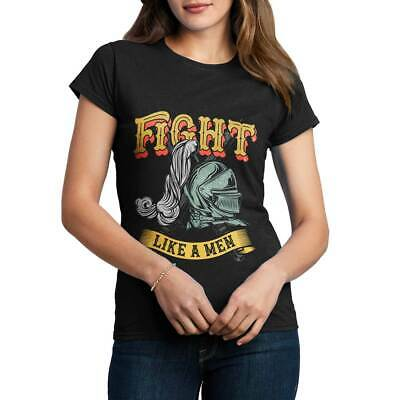 Knight Fight Warrior Armor Sword Steel Plate King Medieval A Womens T-Shirt C898