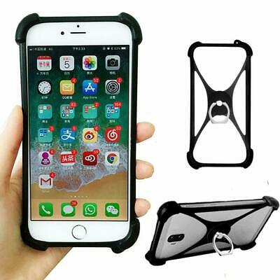 Mobile Phone Accessory Protective Silicone Case Cover Skin Ring Holder Shell New