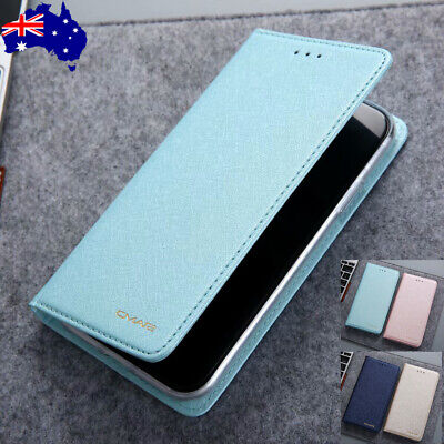 For iPhone 6/6S/7/8 Plus Xs Max Xr Leather Magnetic Flip Card Wallet Case Cover