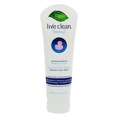 LIVE CLEAN - Calming Bedtime Baby Lotion - 7.7 oz. (227 ml)