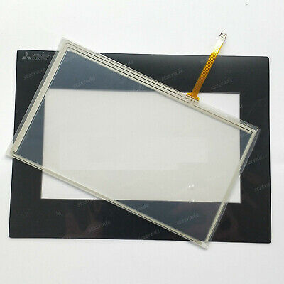 Touch Screen / Glass & Protective film for MITSUBISHI GS2107-WTBD, GS2107WTBD