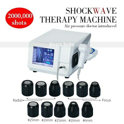 Upgraded shockwave therapy machine Contains 9 interchangeable heads for ED