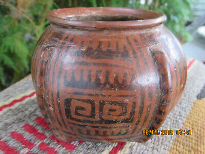 Ancient Jalisco~West Mexico 200BCE-300AD~POLY CHROME Ceremonial Jar