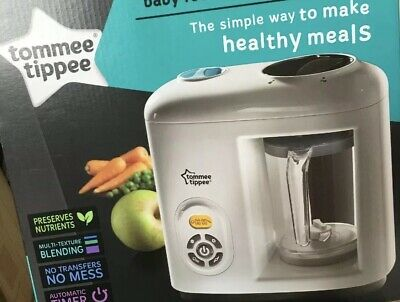 tommee tippee steamer blender Only Used Once Or Twice ( Pat Tested )