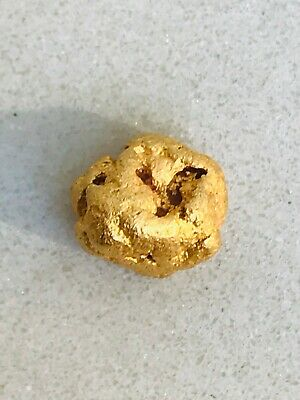 Cue W.A Natural Gold Nugget 97.91% Purity 2.97g #22