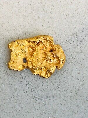 Kalgoorlie W.A Natural Gold Nugget 94.47% Purity 1.28g #19