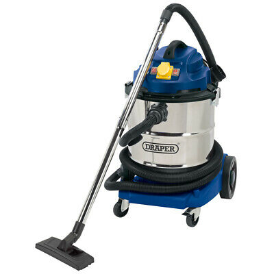 50L 110V Wet and Dry Vacuum Cleaner with Stainless Steel Tank and 110V - 75443
