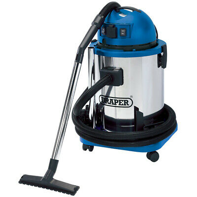 50L Wet and Dry Vacuum Cleaner with Stainless Steel Tank and 230V - 48499