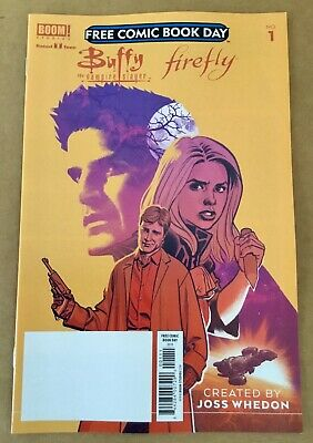 free comic book day issue Buffy the Vampire Slayer #1 2019 Firefly