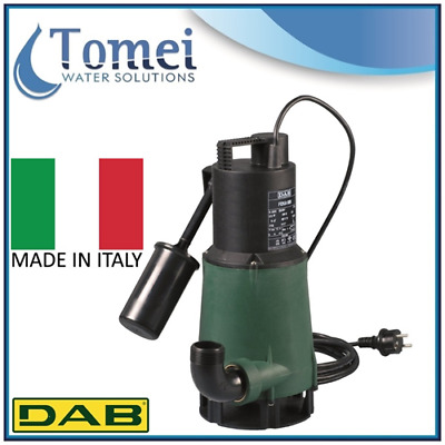 Submersible water pump for clean dirty flood garden pond DAB FEKA 600 M-A 0,55Kw