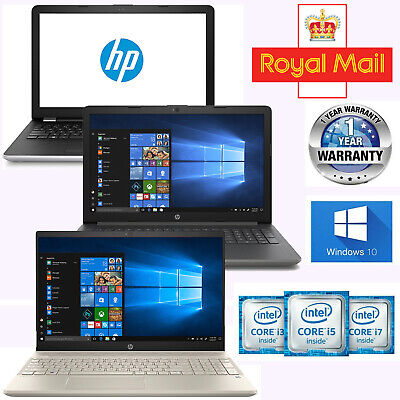 Cheap HP Laptop Intel Core i5 i3 4GB 2GB 8GB RAM 15 Windows 10 SSD HDD 500GB 1TB