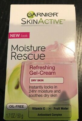 Garnier Skincare Moisture Rescue Refreshing Gel-Cream for Dry Skin, 1.7 oz.