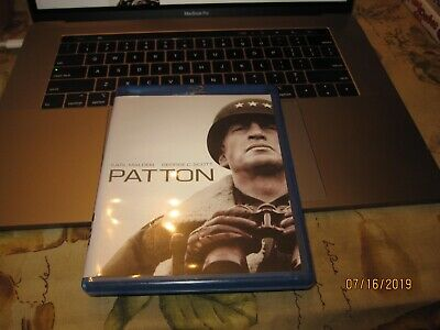 Patton (Blu-ray Disc, 2009, 2-Disc Set) EXCELLENT BIN