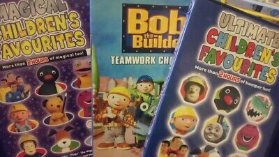 Childrens Favourites 2 Hours Of Bumper + 2 Hours Of Magical Fun, Bob The Builder