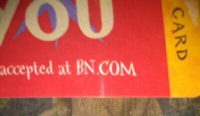 Barnes & Noble * Used Collectible Gift Card * NO VALUE Congratulations Red