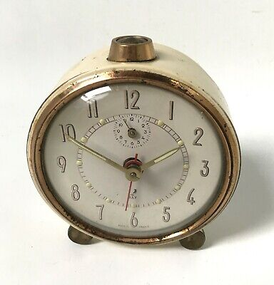 Reveil Marque Jaz Made In France Vintage Clock Collection