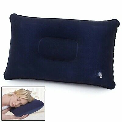 Travel Hiking Air Pillow Inflatable Portable Comfortable Cushion Car Head Rest